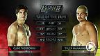Ve la pelea completa de la semifinal entre el canadiense Elias Theodorou y el australiano Tyler Manawaroa. (Audio en inglés)