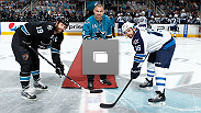 Cain Velasquez made an appearance at the San Jose Sharks game on Thursday night and walked out on the red carpet for the ceremonial puck drop.