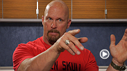 "Former WWE champion ""Stone Cold"" Steve Austin gives his thoughts on former UFC heavyweight champion and current WWE superstar Brock Lesnar."