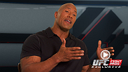 "Now on UFC Fight Pass, former WWE champion and MMA fanatic Dwayne ""The Rock"" Johnson reflects on the career of Brock Lesnar."