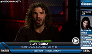 "UFC featherweight fighter Clay Guida talks about his upcoming bout at Fight Night Abu Dhabi versus Tatsuya Kawajiri during an interview on AXS TV's ""Inside MMA."""