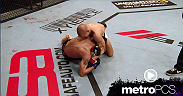 Dustin Poirier sinks in a D'Arce choke from half-guard top position in the move of the week.