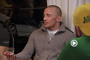 Former UFC champion and Canadian legend Georges St-Pierre stops by the TUF house to motivate the fighters during their experience on The Ultimate Fighter. Georges drops some knowledge and enjoys a meal with the guys