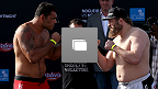 UFC Fight Night Abu Dhabi: Nogueira vs Nelson Weigh-in Gallery