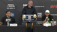 Watch the pre-fight press conference for FOX UFC Saturday: Werdum vs. Browne.
