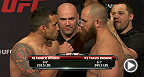 Watch the official weigh-in for UFC Fight Night: Werdum vs. Browne, live Saturday, April 19th at 5am KST.
