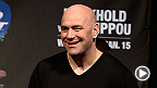 UFC president Dana White meets with the media following the Ultimate Fighter Finale in Quebec City. Topics include: Gina Carano, Big Nog's future, UFC in Mexico, and why Ronda is on the UFC 175 card against Alexis Davis.
