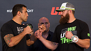 UFC commentator Joe Rogan previews the UFC on FOX 11 main event bout between Fabricio Werdum and Travis Browne, two of the UFC's top heavyweights. Tune in to see which fighter will step up with a title shot on the line.