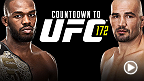 Countdown takes you behind the scenes before UFC 172 as four of the best light heavyweights in the world prepare for a night that will reshape the division. Dominant champion Jon Jones prepares to face Glover Teixeira, his most dangerous threat to date.