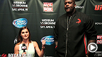 NBA legend Shaquille O'Neal and UFC correspondent Megan Olivi chat it up before UFC on FOX 11. Hear how the big man helped pull off the pre-fight press conference and how he was introduced to mixed martial arts.