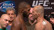 Watch the official weigh-in for UFC 172: Jones vs. Teixeira.
