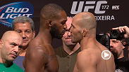 Watch the official weigh-in for UFC 172: Jones vs. Teixeira, live Friday, April 25th at 9pm BST.