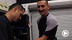 Max Holloway prepares for his main card debut against Andre Fili at UFC 172.