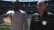 Media members get a chance to catch up with UFC 172 headliners Jon Jones and Glover Teixeira, and co-main event stars Anthony Johnson and Phil Davis at Thursday's Ultimate Media Day. See them all weigh-in tomorrow at 9pm BST on UFC.com.