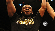 UFC light heavyweight champion Jon Jones discusses his win of Glover Teixeira, his 11th straight victory. Jones, who defended his title for 7th time, reveals how much of game plan was improv and his strategy coming into the fight.