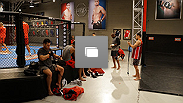Behind the scenes photos from Team Edgar's practice during the Spohn-Monoghan fight week.