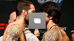 Fotos da pesagem do UFC Fight Night: Brown vs Silva