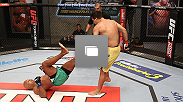 Photos from the 10th episode of TUF Brazil 3, featuring the fight between Marcos Rogerio de Lima and Jollyson Francino.