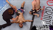 Mike Rio is forced to tap as Tony Ferugson locks on a D'arce choke in the move of the week.