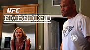 On UFC Embedded episode #2 of 7, Daniel Cormier & Dan Henderson both spend personal time with their families before packing their bags and heading out on a media tour. The same day, UFC President Dana White flies to LA to be honored as a sports visionary.
