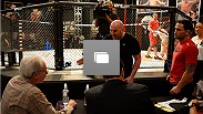 Photos from the sixth episode of The Ultimate Fighter 19, featuring the fight between Roger Zapata and Ian Stephens.