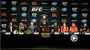 Stars from UFC 175, including Ronda Rousey, Chris Weidman, and Lyoto Machida, as well as Ultimate Fighter 19 headliner BJ Penn take questions from the media and fans in anticipation of their events during International Fighter Week.