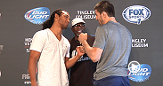 Stars from Fight Night Albuquerque meet with the media before taking the Octagon on Saturday night. Hear from headliners Benson Henderson and Rustam Khabilov, the always exciting Diego Sanchez and electric flyweight John Dodson!
