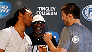 Former lightweight champion Benson Henderson takes on grappling ace Rustam Khabilov at Fight Night Albuquerque on Saturday night. Henderson wants to get back to title contention while Khabilov hopes a win propels him higher in the lightweight rankings.