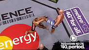 Ryan Jimmo put James Te Huna to the canvas with a high kick to the head at UFC on FUEL TV in London in this weeks MetroPCS Move of the Week