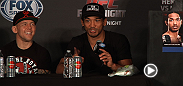 Listen to the Fight Night Albuquerque post-fight press conference highlights from Diego Sanchez, Ben Henderson, Ross Pearson and more.