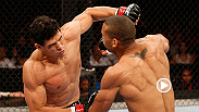 In his first appearance in the Octagon, TUF Brazil 1 winner Cezar Ferreira shows off his ground game against Thiago Santos.