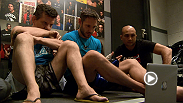 Chris Fields sits down with Team Penn coaches to review the film of opponent Matt Van Buren.