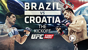In anticipation of Brazil 2014 getting underway with the Group A clash between hosts Brazil and Croatia, UFCFIGHTPASS.com presents another 'kick-off' between the two nations: the 2003 fight of the year between Minotauro Nogueira and Mirko Cro Cop.