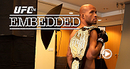 On episode #3 of UFC 174 Embedded, UFC President Dana White and bantamweight champion TJ Dillashaw witness a bad decision and a great finish on the set of TUF LATAM.
