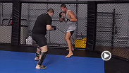 Brendan Schaub prepares for his bout at UFC 174 against returning UFC heavyweight Andrei Arlovski.