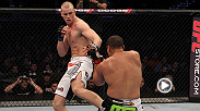 "Stefan Struve locks Pat Barry in a triangle, then switches to a triangle armbar to seal the submission victory. See the ""Skyscraper"" take on Matt Mitrione at UFC 175 in Las Vegas, Nevada."