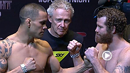 Watch the official weigh-in for UFC Fight Night Auckland, live Friday, June 27 at 5am BST.