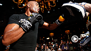 "Anderson Silva is back sparring and training boxing with his coach Edelson. ""The Spider"" also has a message for UFC fans about his projected return in 2015."