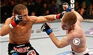"Submission specialist Urijah Faber gets his 30 win by submitting Michael McDonald with a guillotine choke. Watch ""The California Kid"" do work against rising bantamweight contender Alex Caceres at UFC 175 in Las Vegas, Nevada."