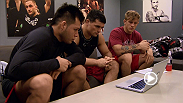 Wrestler Patrick Walsh sits with teammates  Hector Urbina and Ian Stephens to discuss his upcoming bout against teammate Corey Anderson. Find out who advances to the finale Wednesday night on FOX Sports 1!