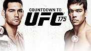 Go behind the scenes of as two undefeated champs prepare to defend their titles against  at UFC 175. Middleweight king Chris Weidman prepares to face  Lyoto Machida. In the co-main event, Alexis Davis tries become the first woman to defeat Ron