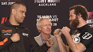 Hear from Fight Night Auckland main event warriors James Te Huna and Nat Marquardt and more in the event's Media Day Highlights from New Zealand.