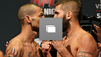 Fotos da pesagem do UFC Fight Night: Swanson vs Stephens