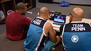 Middleweight Roger Zapata reviews film on opponent Dhiego Lima before their semifinal bout Wednesday on The Ultimate Fighter season finale!