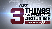 "Former WEC Featherweight Champion Urijah Faber tell you a few things you may not have known about ""The California Kid."" Faber takes on Alex Caceres at UFC 175."