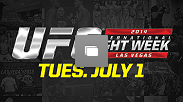 UFC International Fight Week Event Recap from Tuesday, July 1, 2014 in Las Vegas, Nevada. (Photo by Jeff Bottari & Brandon Magnus/Zuffa LLC/Zuffa LLC via Getty Images)