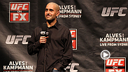 Jon Anik and Kenny Florian are hosting a fan Q&A. Live coverage begins at 6:30pm BST on 5th July