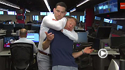 SportsCenter anchors ask Chris Weidman the questions they were too scared to ask him in studio.
