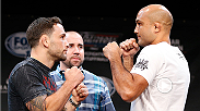 TUF 19 coach Frankie Edgar balances training and family as he gets ready for his third fight against opposing TUF 19 coach BJ Penn.