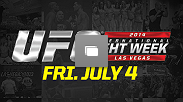 UFC International Fight Week Event Recap from Friday, July 4, 2014 in Las Vegas, Nevada.(Photos by Jeff Bottari & Brandon Magnus/Zuffa LLC/Zuffa LLC via Getty Images)